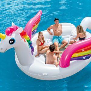 Intex Schlauchboot Unicorn Party Island A