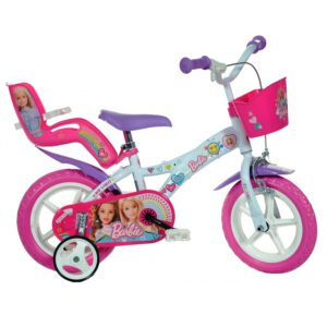Dino Barbie 12 Zoll Mädchen Kinderfahrrad A