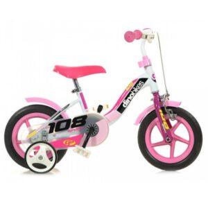 Dino Bikes Mädchen Kinderfahrrad 10 Zoll