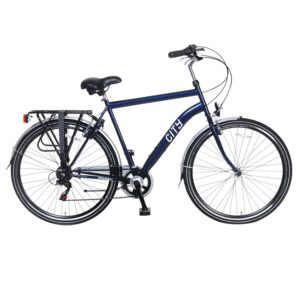 Popal City 6 Speed 28 Zoll Herren Fahrrad Blau A