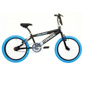Bike Fun Tornado 20 Zoll Schwarz Blau