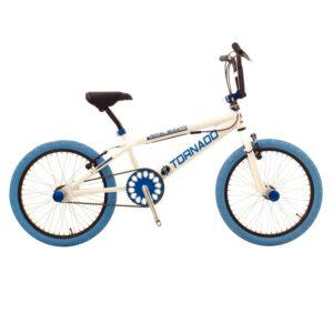 Bike Fun Tornado 20 Zoll Weiß Blau