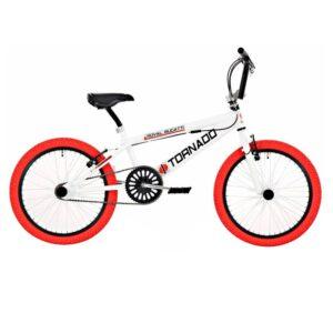 Bike Fun Tornado 20 Zoll Weiß Rot