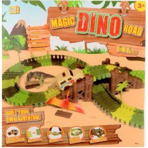 Jonotoys Magic Dino Road 141-teilig