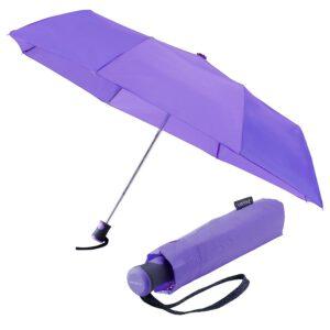 miniMAX Regenschirm LGF-260 Lila Automatik 95 cm C