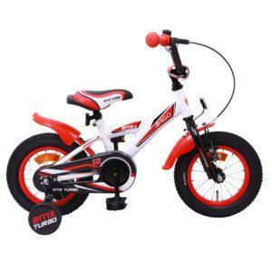 AMIGO BMX Turbo 12 Zoll Rot Weiß A