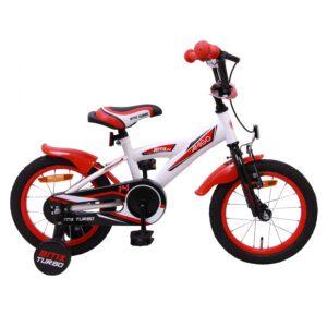AMIGO BMX Turbo 14 Zoll Weiß Rot A