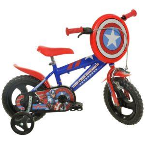 Dino 412UL-CA Captain America 12 Zoll Kinderfahrrad A