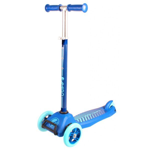 AMIGO Dreirad Kinderroller Hellblau A