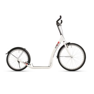 Bike Fun Bike2Go Weiß 24 Zoll Tretroller