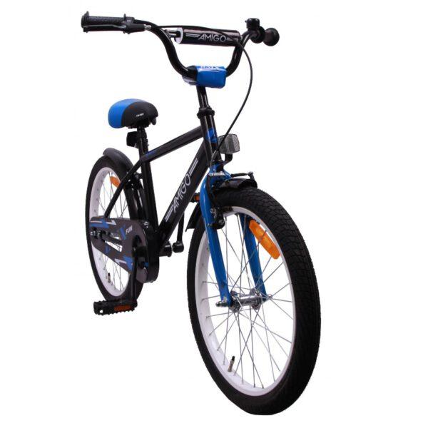 AMIGO BMX Fun 20 Zoll Blau-Schwarz Kinderfahrrad C