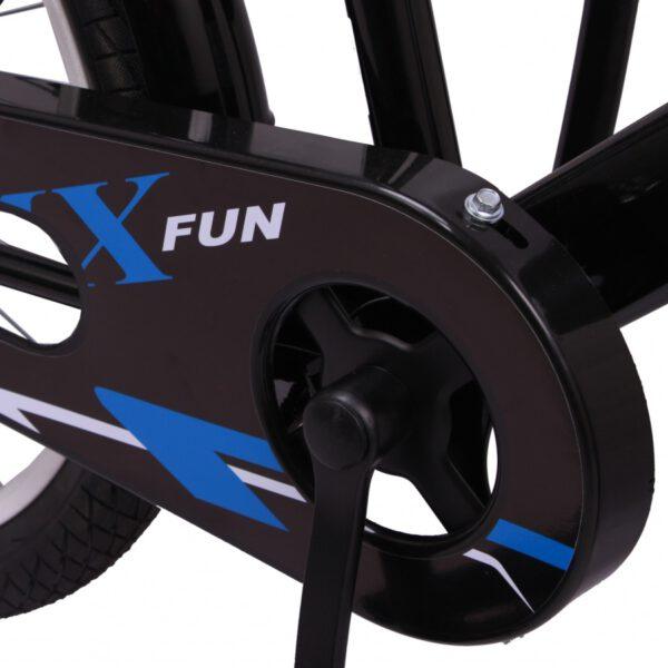 AMIGO BMX Fun 20 Zoll Blau-Schwarz Kinderfahrrad F