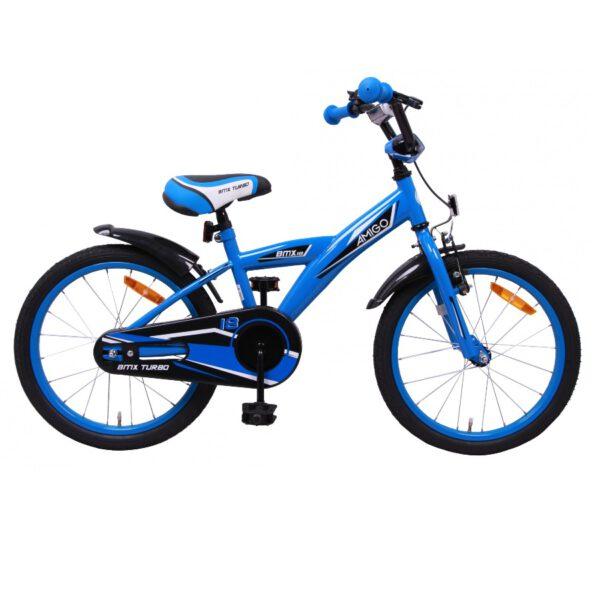 AMIGO BMX Turbo 18 Zoll Kinderfahrrad Blau A