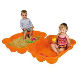 Paradiso Toys Sandkasten Katze 96 x 68 cm orange A