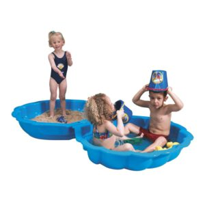 Paradiso Toys Sandkastenmuschel 102 x 88 cm Blau A