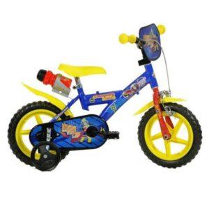 Dino Bikes Feuerwehrmann Sam Kinderfahrrad 12 Zoll