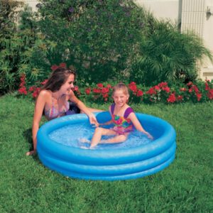 Intex Crystal Blue 114 x 25 cm 3-Ring Kinderpool A