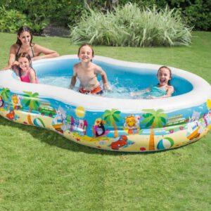 Intex Swim Center Seashore Pool 262 x 160 x 46 cm A
