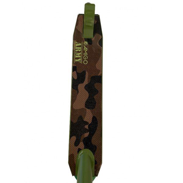 AMIGO Army Stuntscooter Tretroller Grün C
