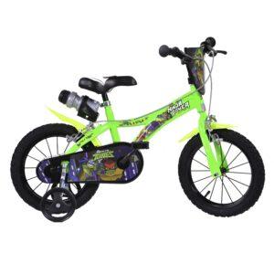 Dino Bikes 16 Zoll Kinderfahrrad Ninja Turtles