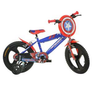 Dino Bikes Captain America 16 Zoll Kinderfahrrad