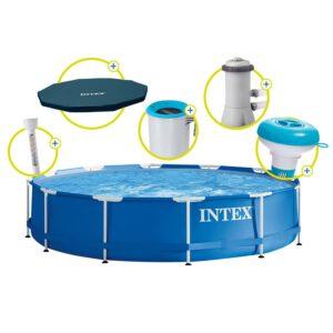 Intex Frame Pool Rondo 366 x 84 cm Komplettset A