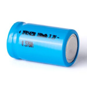 AkkuCell IFR 14250 180mAh LiFePo4 Akku Flat Top ungeschützt 3,2V C