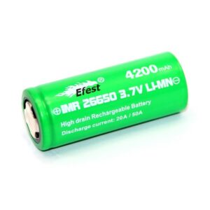 Efest Green IMR26650 Akku 4200mAh 20A - 50A A