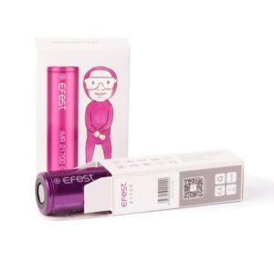 Efest Purple 21700 5000mAh Akku 10A – 15A A