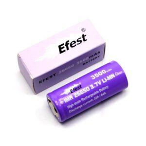 Efest Purple IMR 26650 Akku 3500mAh 32-64A A