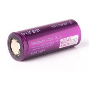 Efest Purple IMR 26650 Akku 5000mAh 40A (Puls) A