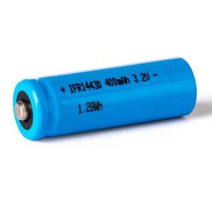 Eizfan IFR 14430 400mAh LiFePo4 Akku Button Top ungeschützt 3,2V A