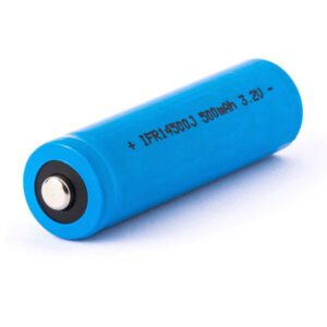Eizfan IFR 14500J AA 500mAh 3,2V LiFePo4 Akku (Button Top) ungeschützt