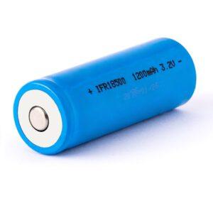 Eizfan IFR18500 1200mAh 3,2V LiFePo4 Akku (Button Top) ungeschützt.jpg A