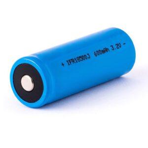 Eizfan IFR18500 600mAh 3,2V LiFePo4 Akku (Button Top) ungeschützt