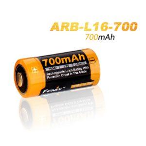 Fenix ARB-L16-700 16340 700mAh R123A Akku A