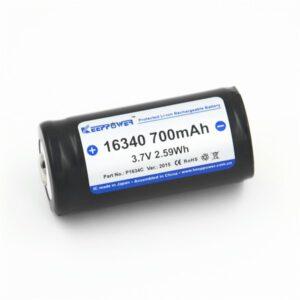 Keeppower P1634C 16340 700mAh Li-Ion Akku A